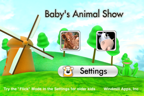 Screenshot Baby's Animal Show